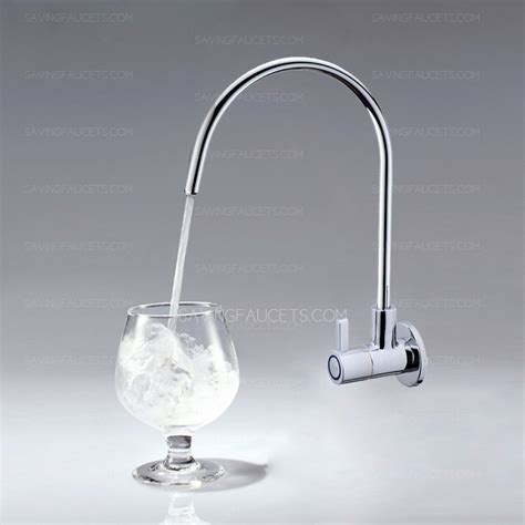 brass kitchen faucets high end wall mount water chrome brass kitchen