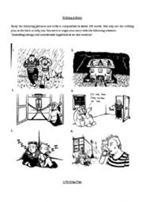 English Worksheets Story Writing