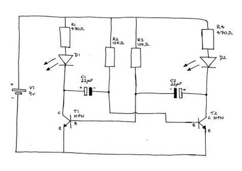 Astable Multivibrator Circuit Diagram Page