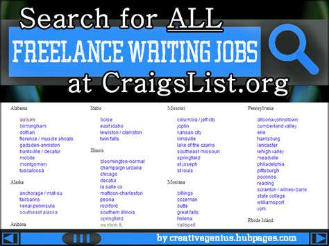 Craigslist Resume Search by Learn How To Search Craigslist For All Freelance Writing