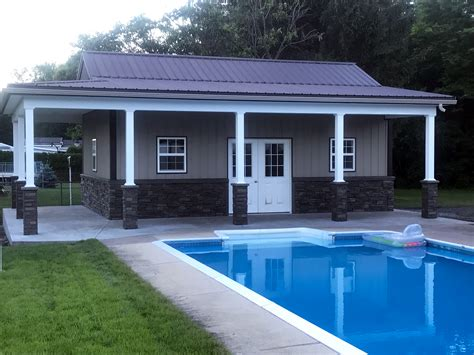 Shawn's Pool House Design