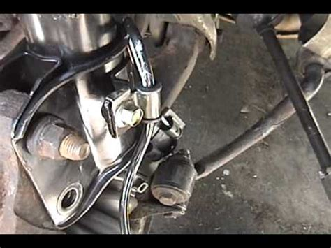 subaru legacy full diy abs wheel speed sensor