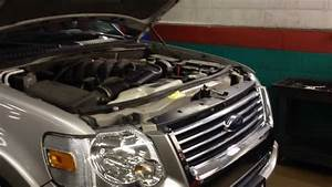 Ford Explorer Coolant Leak Radiator Repair
