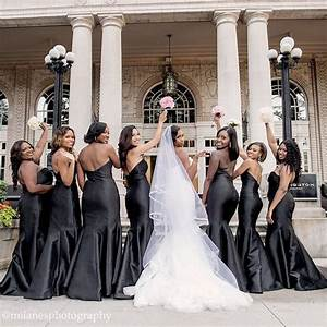 bridesmaid dresses for black people With black people wedding dresses
