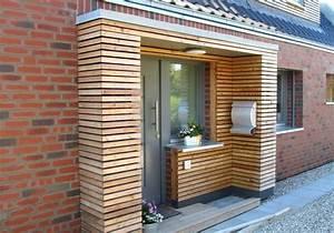 Holz Vordach Hauseingang : vorbau hauseingang anbau holz modern bauen in 2019 holzgartenhaus haus und garten und fassade ~ Watch28wear.com Haus und Dekorationen