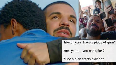 Gods Plan Meme - people have turned drake s god s plan video into a meme popbuzz