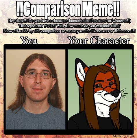 Comparison Meme - comparison meme by foxpiper1986 on deviantart