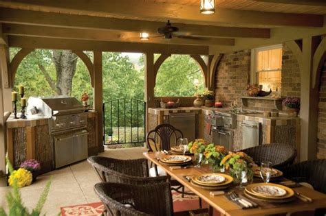 Build Outdoor Kitchen Yourself  22 Good Ideas And