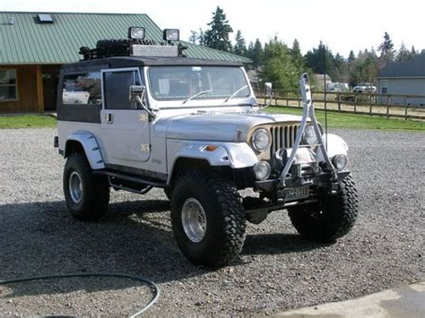 Purchase Used Unique 1984 Alaska Usa Mail Jeep. Only 152