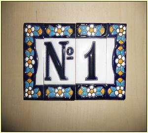 ceramic tile house numbers and letters home design ideas With ceramic tile house numbers and letters