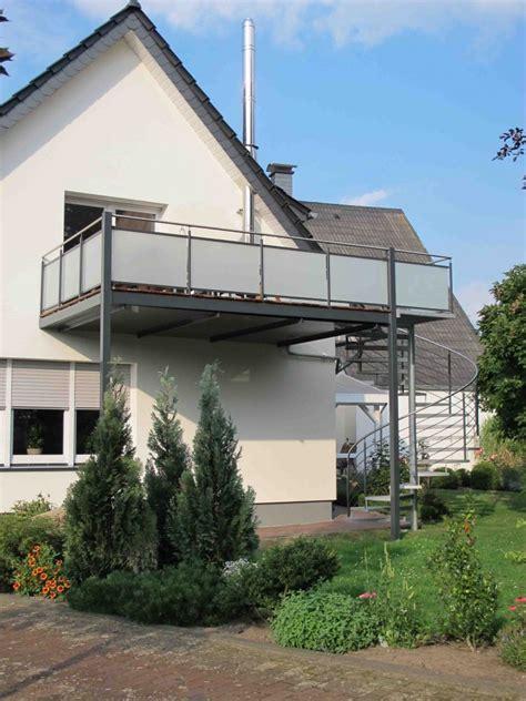 Balkon Aus Metall by Balkone Gel 228 Nder Heidacker Edelstahlm 246 Bel