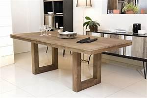 Table A Manger : table manger en bois table a manger en bois fresh table manger en bois les concepteurs ~ Teatrodelosmanantiales.com Idées de Décoration