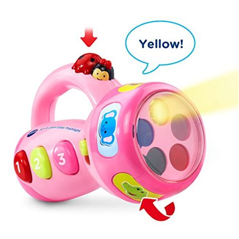 vtech spin and learn color flashlight vtech spin and learn color flashlight pink