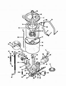 Washer Assembly Diagram  U0026 Parts List For Model 41798802890