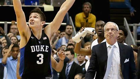 unc  duke score  updates  college basketball