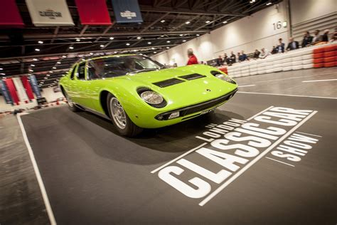 Inside The London Classic Car Show 2018