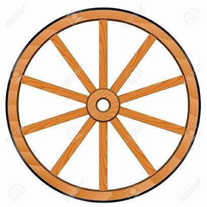 Wheel Wooden Wagon Clipart Vector Clip Wheels
