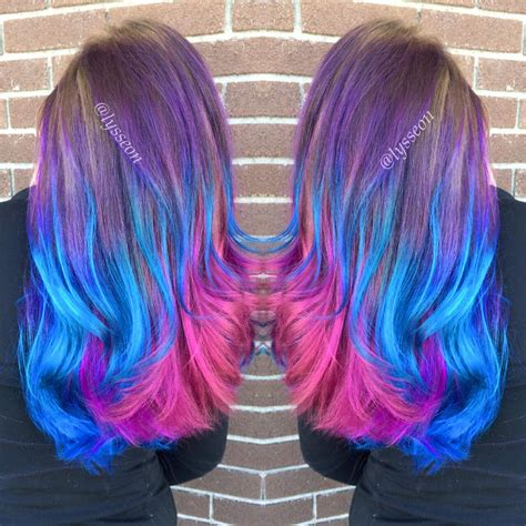 Hair Tagged As Pink Blue And Purple Hair Page 3 Of 4