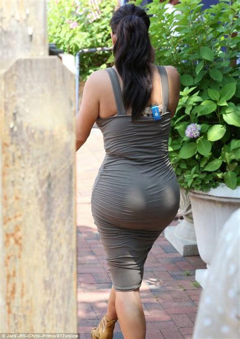 kim kardashian  james perse stretch cotton jersey