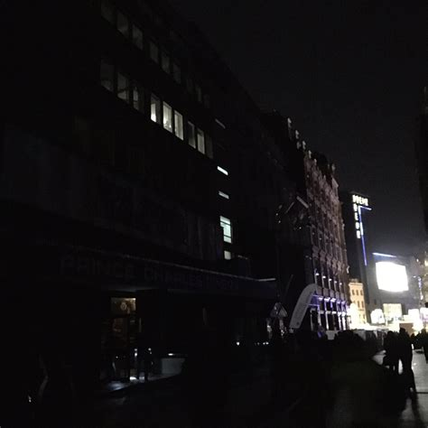 black friday power cut plunges soho  darkness