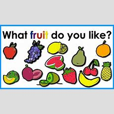 Fruit Vocabulary  Easy English Practice  Esl Youtube