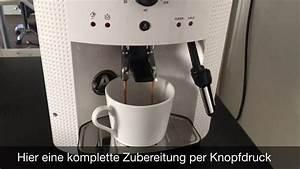 Kaffeebohnen Für Vollautomaten Test : test bericht krups ea8105 kaffeevollautomat f r 39 s b ro und ~ Michelbontemps.com Haus und Dekorationen