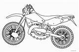 Coloring Motorcycle Pages Bike Printable Dirt Motor Bikes Cool2bkids Cars Popular sketch template