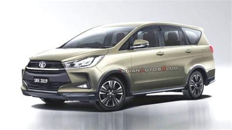 toyota innova crysta facelift 2020 2020 toyota innova crysta facelift rendered with stylish