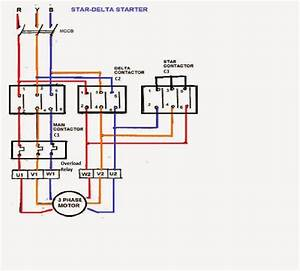 Three Phase Motor Connection Star Delta