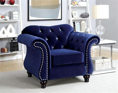 blue flannelette fabric sofa set