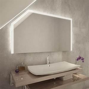 Spiegel Für Dachschräge : nagoya led badspiegel mit dachschr ge online kaufen ~ Sanjose-hotels-ca.com Haus und Dekorationen