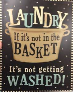 Laundry Room Sayings and Quotes