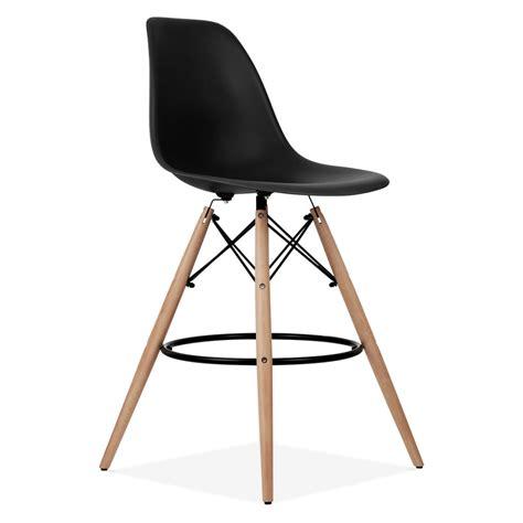 charles eames black dsw stool kitchen bar stools cult uk
