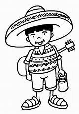 Cinco Mayo Coloring Pages Sheets Printable Mexican Mexico Heritage Christmas Theme Charro Fiesta Preschool Template Worksheets Activities Thema Kleuren Kleuters sketch template