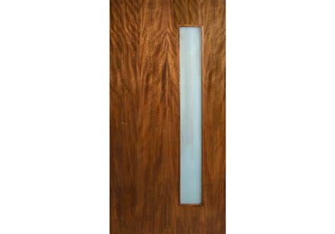 Decorative French Doors by Leptos Single Vertical Lite Door With Laminate Glass Eto