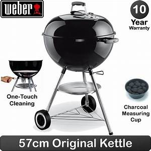 Barbecue Weber 57 Cm : weber 57cm 22 5 inch charcoal kettle barbecue original ~ Dode.kayakingforconservation.com Idées de Décoration