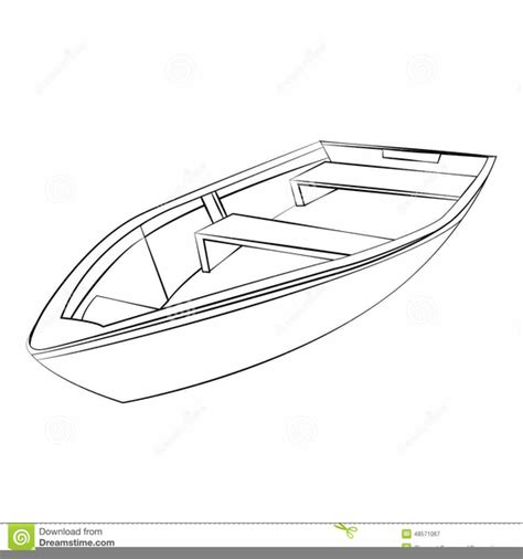 Boat Clipart Outline by Boat Outline Clipart Free Images At Clker Vector