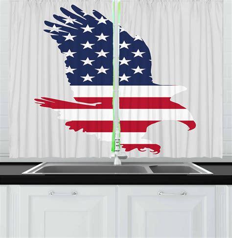 Eagle Kitchen by Eagle Kitchen Curtains 2 Panel Set Window Drapes 55 Quot X 39