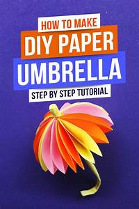 How To Make Paper Umbrella In 5 Minutes  Here Is Step By