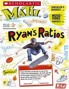 Scholastic Math Magazine cover, by Linzie Hunter   Tj ...