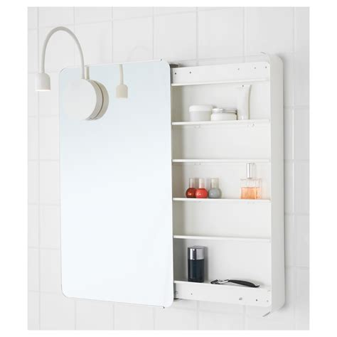 ikea bathroom mirrors and cabinets brickan mirror cabinet white 40x73 cm ikea