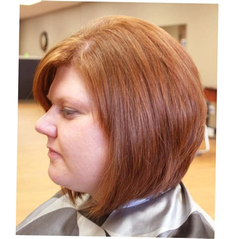 Short Hairstyles for Fat Faces