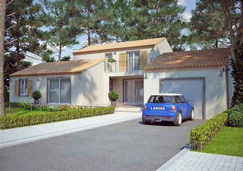 modele de cuisine provencale modèle de villa à étage 120m2 type traditionnel magnolia azur logement provençal