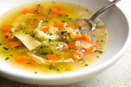 chicken soup  scratch recipe nyt cooking