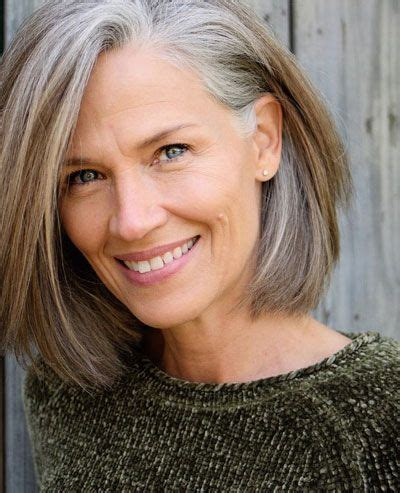 Here are the best medium hairstyles and haircuts for women over 50. 50 Best Hairstyles for Thin Hair Over 50 (Stylish Older Women Photos) | Bob hairstyles for fine ...