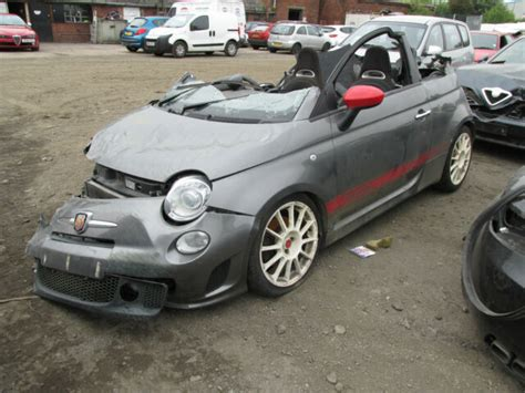 Fiat 500 Turbo Automatic by Fiat 500 Abarth Automatic 2011 1 4 Turbo Breaking Wheel