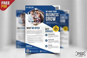Free business flyer template psd download download psd for Business flyer psd