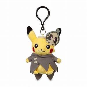 duskull costume pikachu plush keychain 701