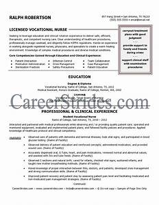 nurse resume sample example written by a professional With lvn nursing resume template