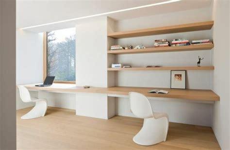 bureau en bois moderne l étagère bibliothèque comment choisir le bon design